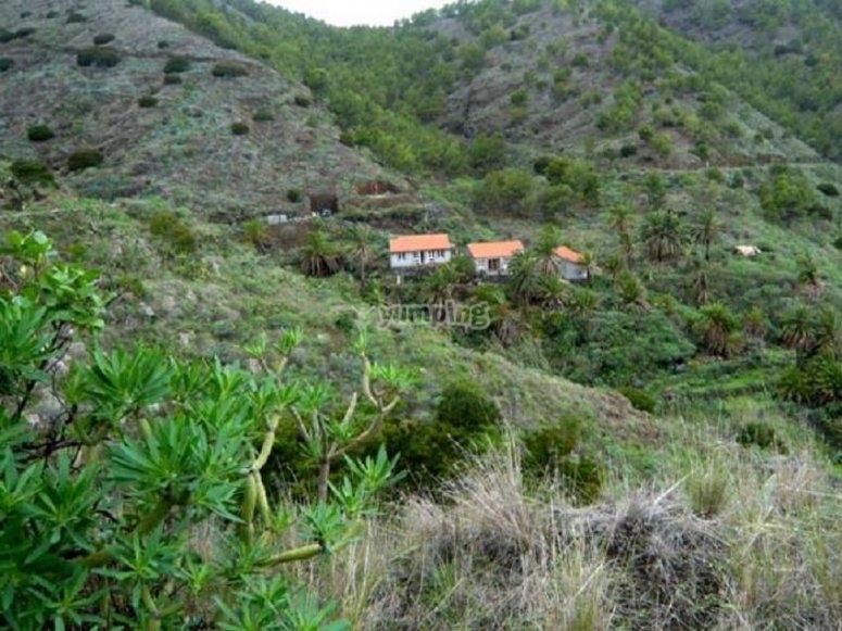 Recorriendo los paisajes de La Gomera