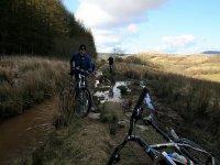 Ruta en bici de montaña