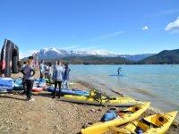 Campamento de invierno en el Pirineo