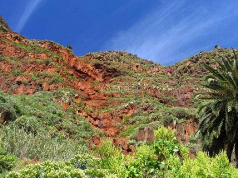 Impresionantes paisajes de La Gomera