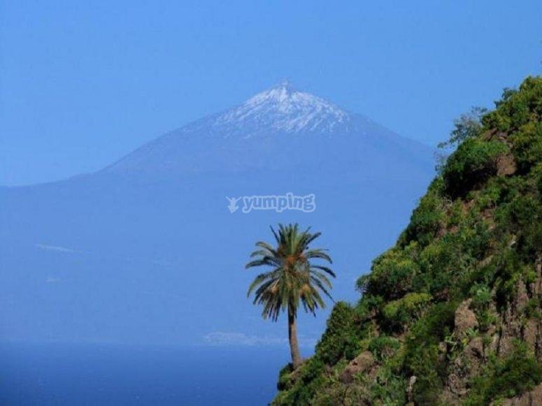 Silueta del Teide
