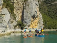 Paddle surf route through the Huesca Pyrenees