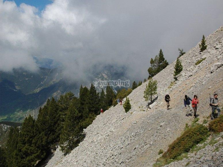 caminos de montana