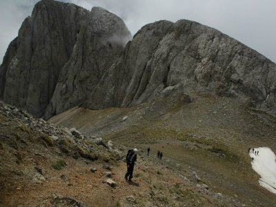 徒步前往Pedraforca峰会