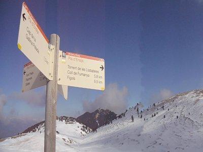 徒步前往Gallina Pelada峰