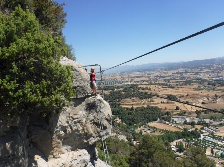 位于Vallcebre的高级Via Ferrata