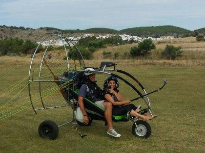 Vuelo en paramotor Cádiz especial parejas