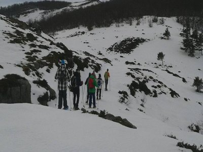 Excursión de raquetas de nieve cerca de Bilbao