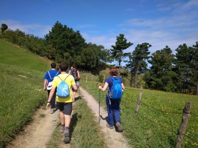 Starting Nordic walking course, Basque Country