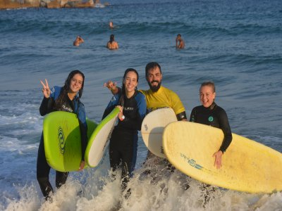 Surfing course, Barcelona, two-hour classes