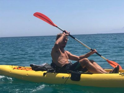 Kayak outing for bachelor paries in Tarifa
