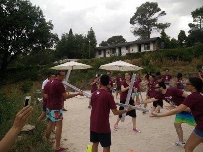 Gymkana和马德里公司的活动2h