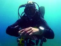 Bautismo de buceo en mar en Almuñecar, 2 horas