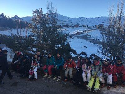 Campamento de invierno en Sierra Nevada 5 días