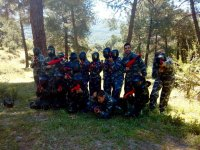 Paintball en entorno natural