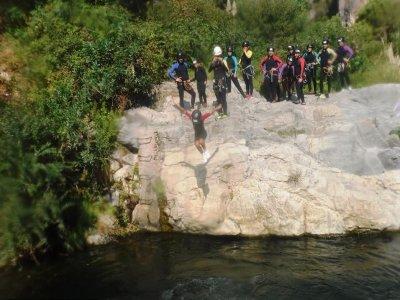 峡谷和高空滑索 Garganta Verde 周末