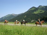 Comienza la ruta a caballo