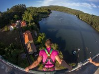 2 bungee jumping jumps in Noia + photo session