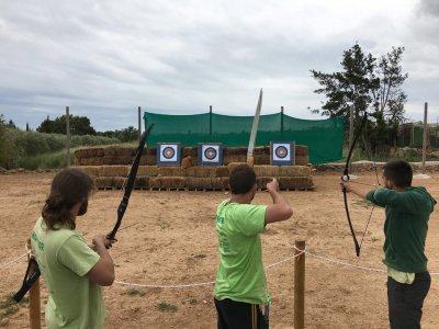 Archery Session in Ebro Delta