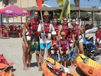 皮划艇组儿童