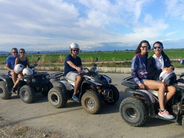 Various quads in Tarragona