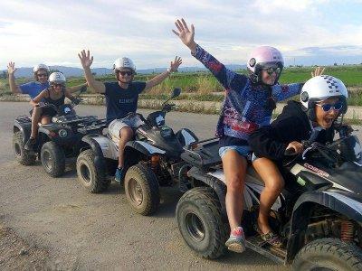 Ruta en quad biplaza Delta del Ebro 2 horas