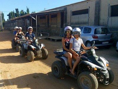 Paseo en quad individual Delta del Ebro 3 horas
