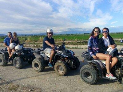 Paseo en quad biplaza Delta del Ebro 3 horas