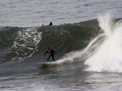 Corso di surf a Moaña