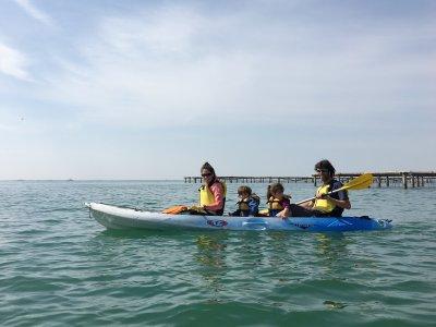Ruta en Kayak para niños Alfacs y Mejilloneras