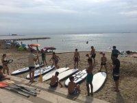 监视器指路管理桨桨冲浪在塔拉戈纳-999桨冲浪 - 在埃布罗三角洲城桨冲浪