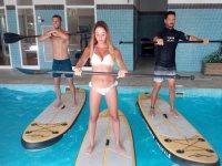 Aquapaddle en Alicante ejercicio con música 1 hora