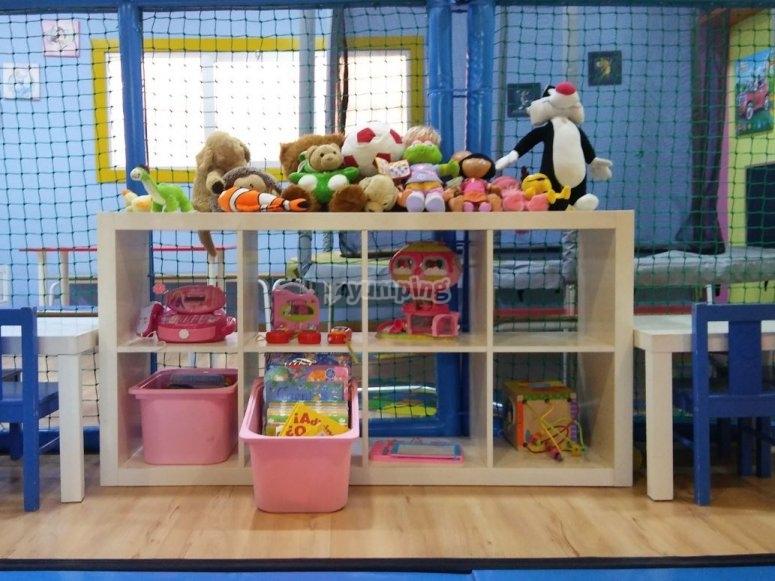 Zona de juguetes