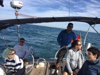 Día navegando con amigos