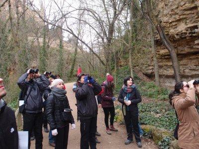 Rutas para grupos e iniciación a la ornitología 3h