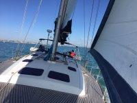 Aprendiendo a navegar en un velero
