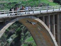 salto en el puente