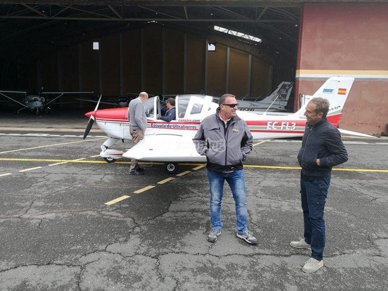 Piloto y pasajero