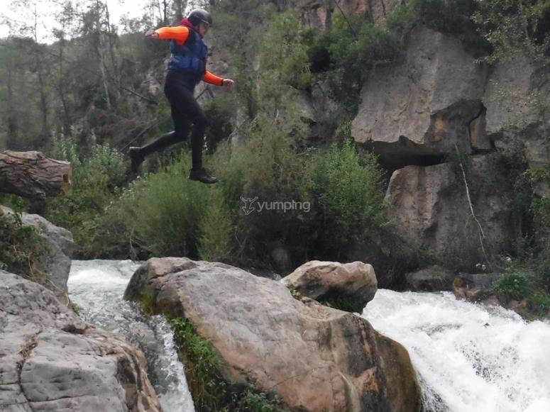 Divertido salto