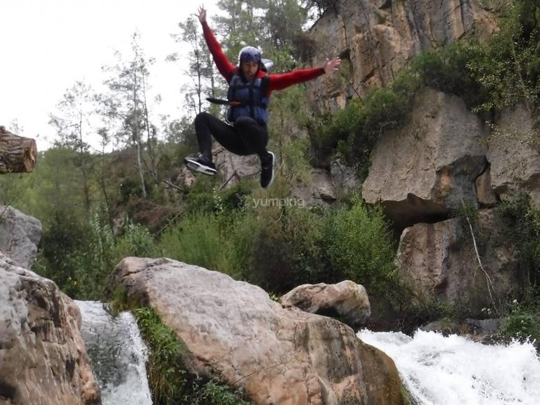 Gran salto al agua
