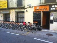 bikes prepared for adventure