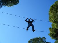Multi-adventure for companies in Seville 1/2 day