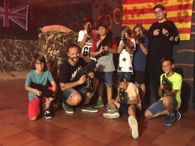 Partida laser combat en l'Ametlla del Vallès 15min
