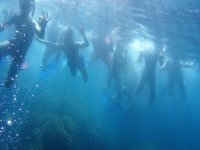 Snorkel during the route