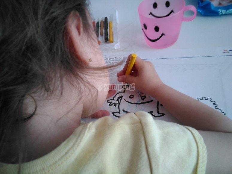 Talleres de dibujo para fomentar su creatividad