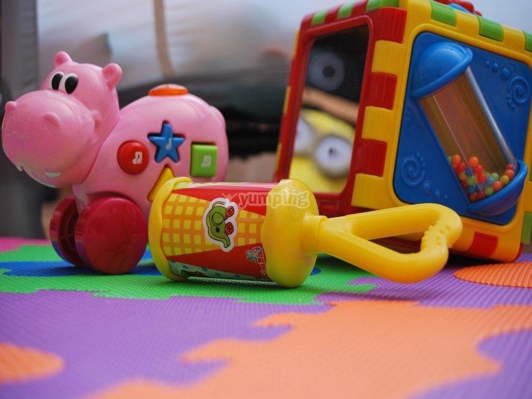 Material de juego para los niños