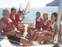 take the kids to sail