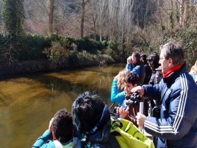 Escapada y ornitología o senderismo Segovia 2 días