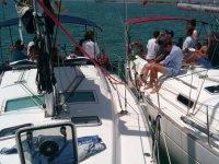 Pasando de un barco a otro