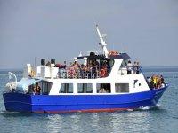 Navegando desde el puerto de Fuengirola